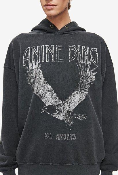 ANINE BING pull à capuche rowe eagle
