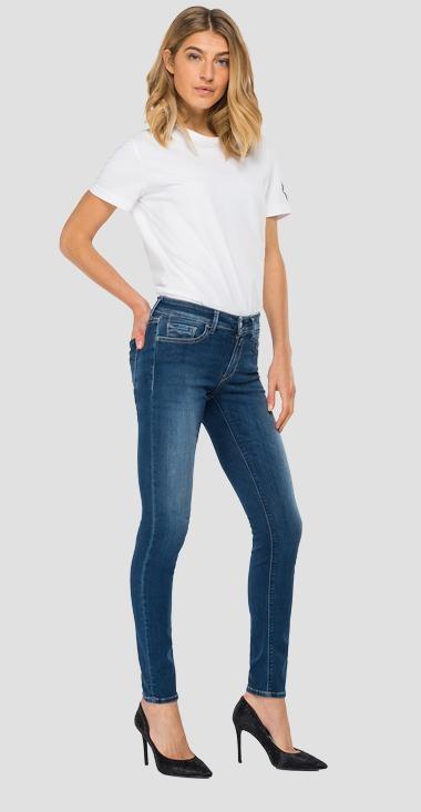 REPLAY jean skinny hyperflex reused new luv-3