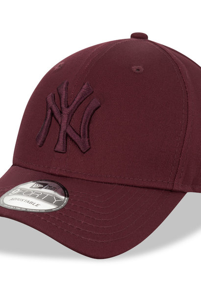 NEW ERA 9forty yankees bordeau