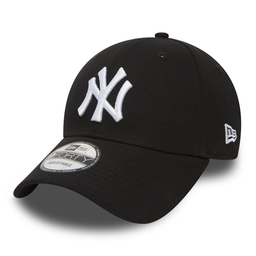 NEW ERA 9forty yankees noir blanc-1