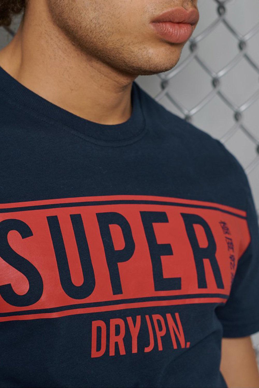 SUPERDRY t-shirt panel sdry-3