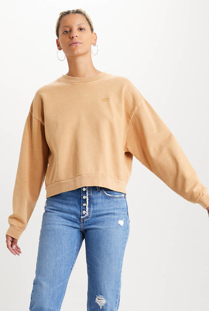 LEVIS pull  à col rond longue manches  diana crew