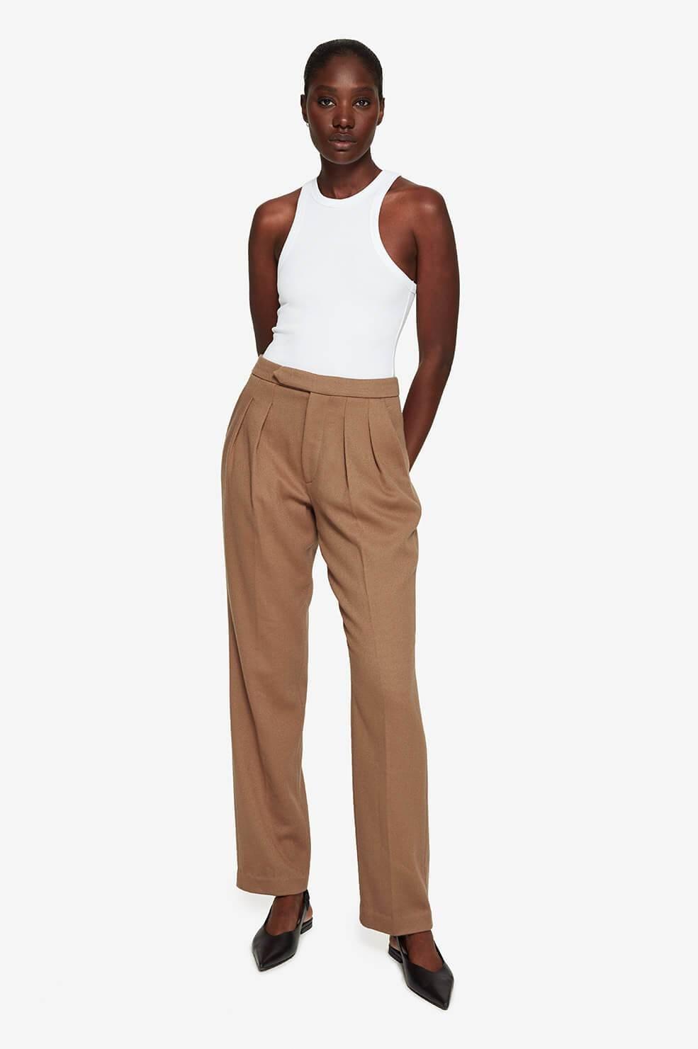 ANINE BING pantalon james-2