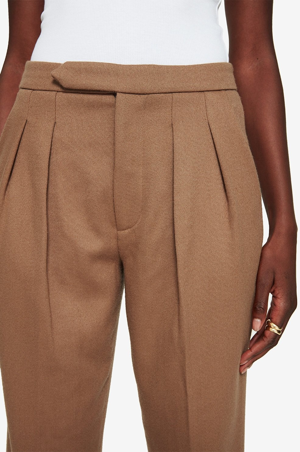 ANINE BING pantalon james-5