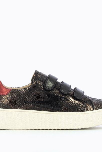 PEPITES chaussure baskets éclair noir