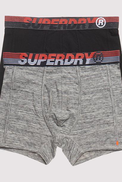 SUPERDRY Pack De Deux Boxeurs Speed Sport