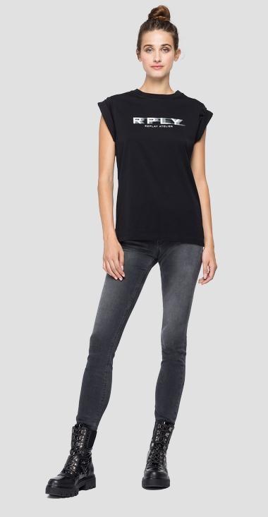REPLAY T-shirt ras-du-cou-1