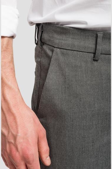 REPLAY pantalon chiné à poches-4