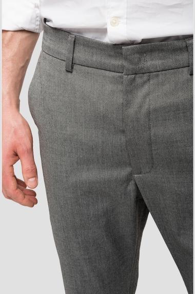 REPLAY pantalon chiné à poches-5
