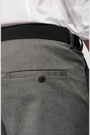 REPLAY pantalon chiné à poches-6