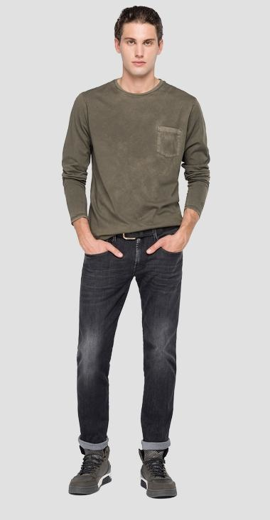 REPLAY T-shirt longues manches-6