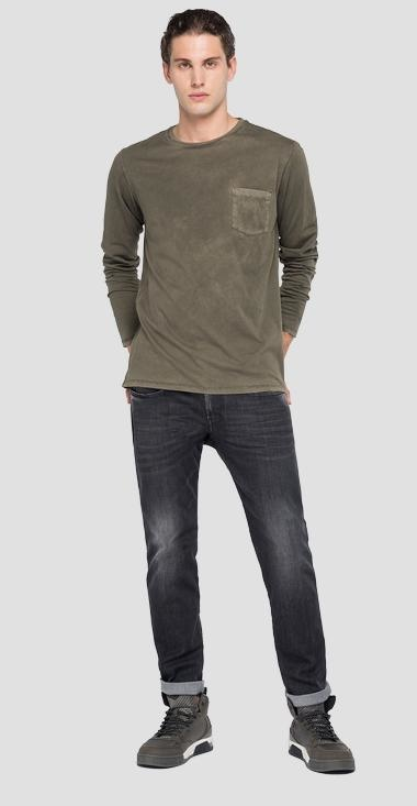 REPLAY T-shirt longues manches-7