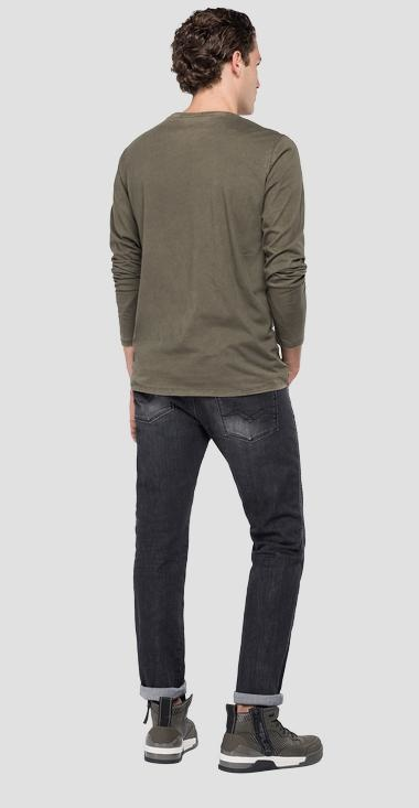 REPLAY T-shirt longues manches-8
