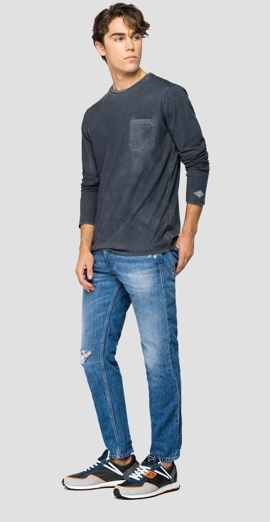 REPLAY T-shirt longues manches-2