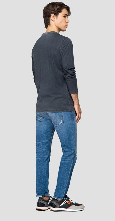 REPLAY T-shirt longues manches-3