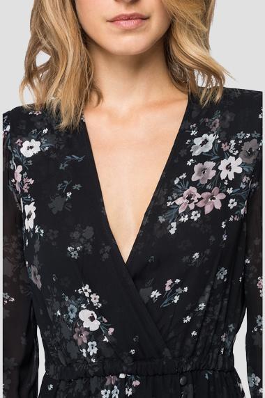 REPLAY Robe imprimé fleuri-4