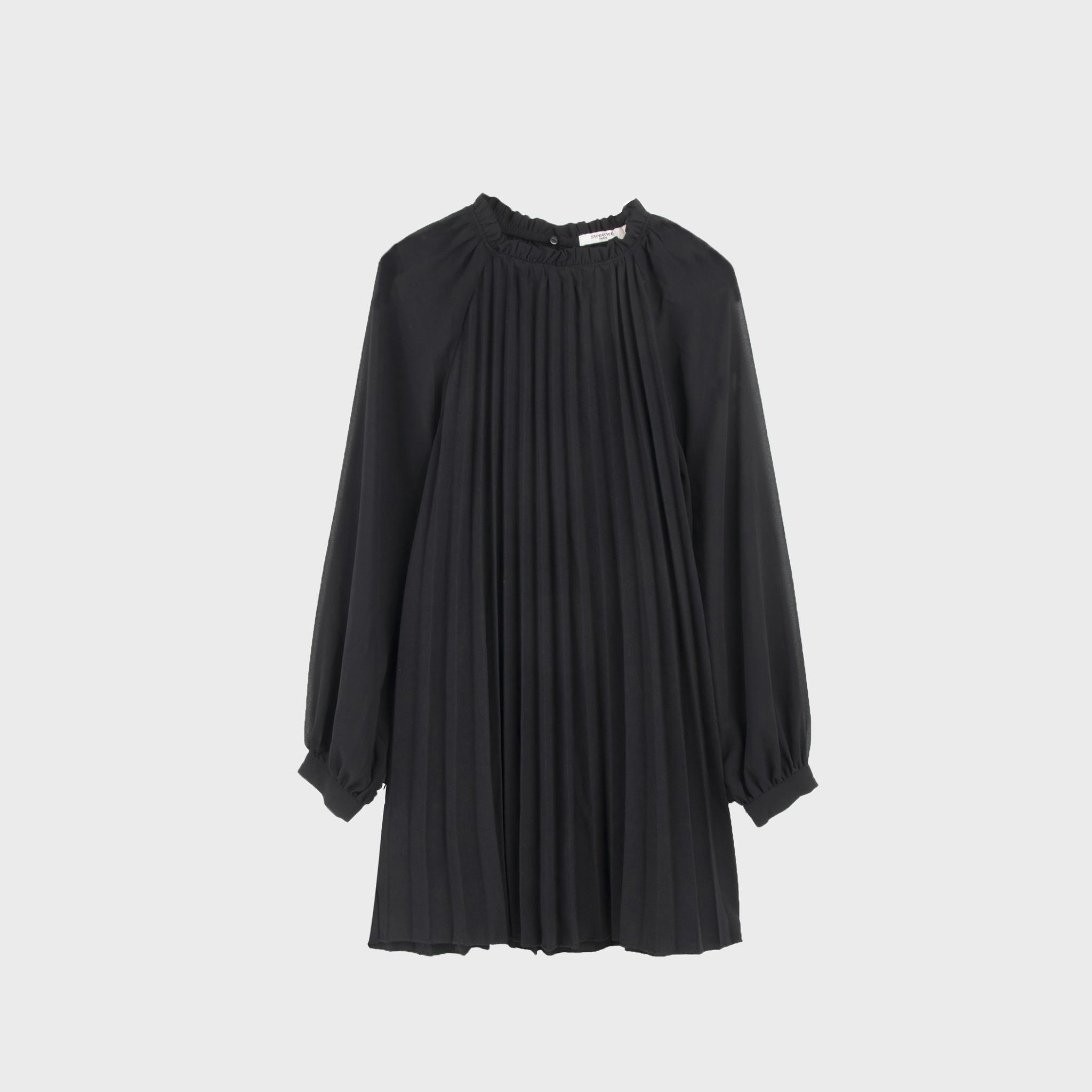 PEPITES robe noir-5