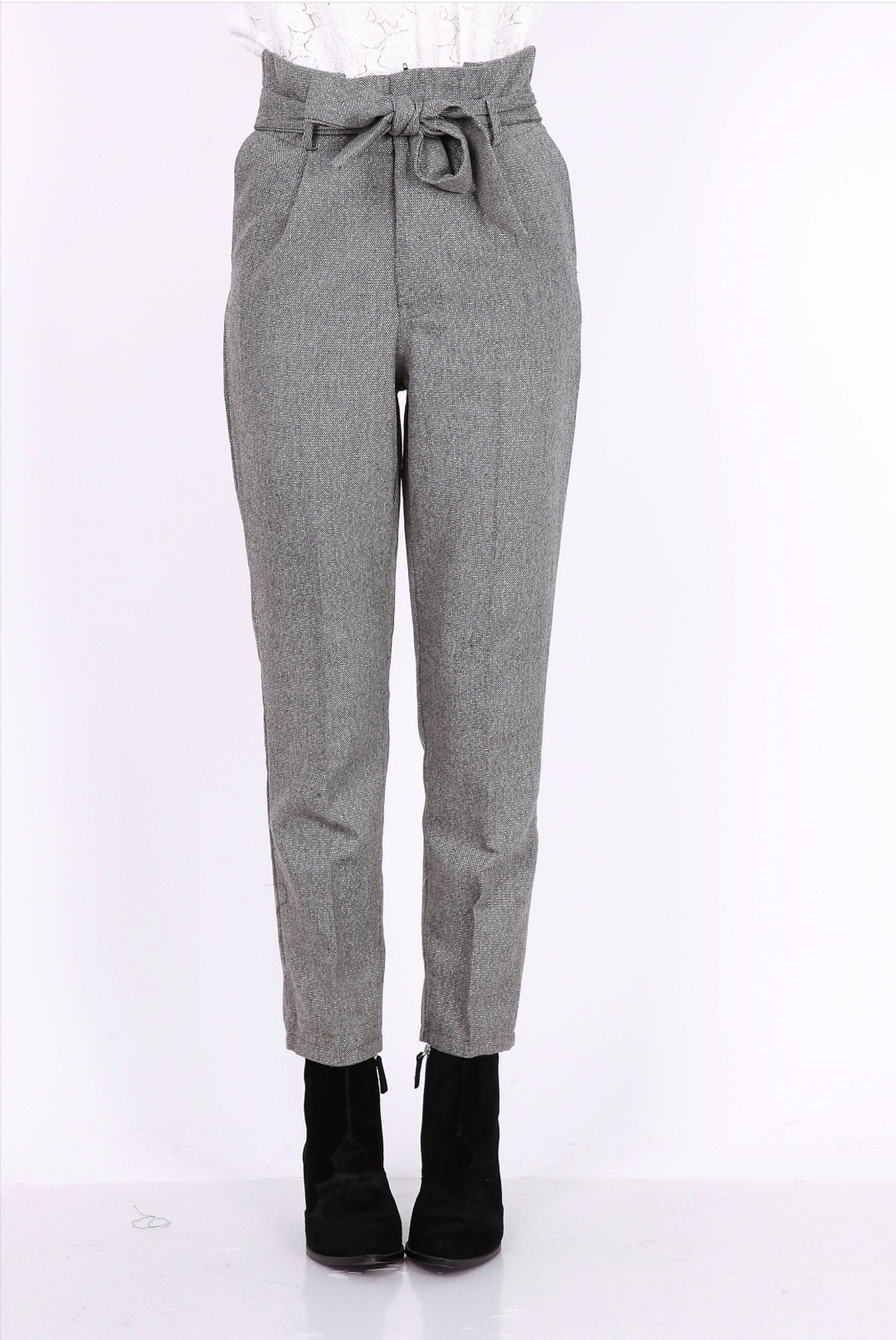 PEPITES pantalon john gris-1
