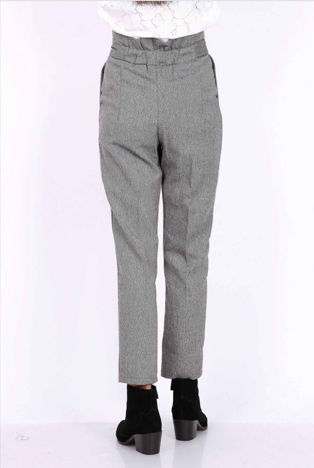 PEPITES pantalon john gris-2
