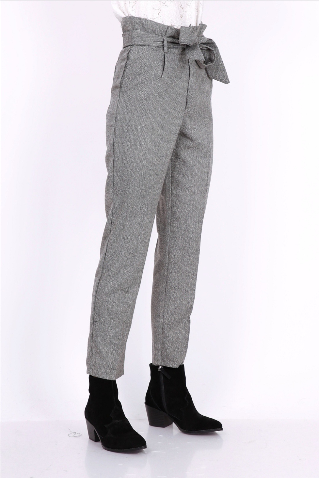 PEPITES pantalon john gris-3
