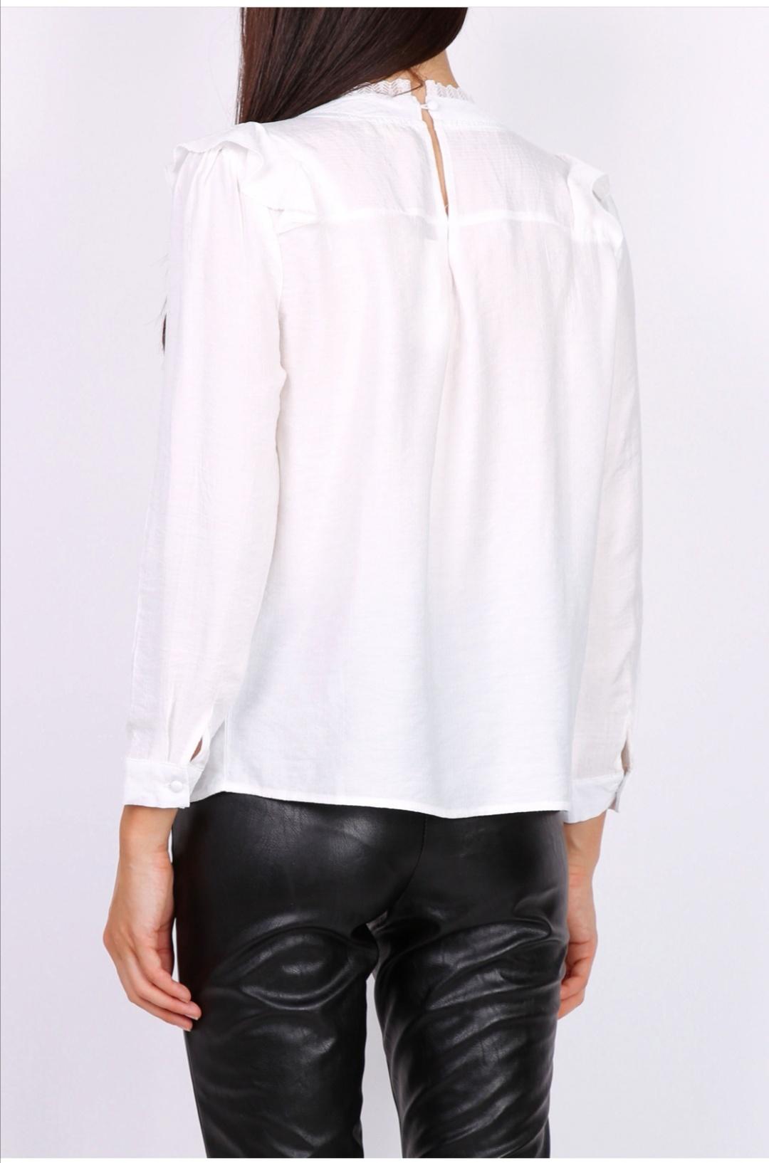 PEPITES blouse lea blanche-2
