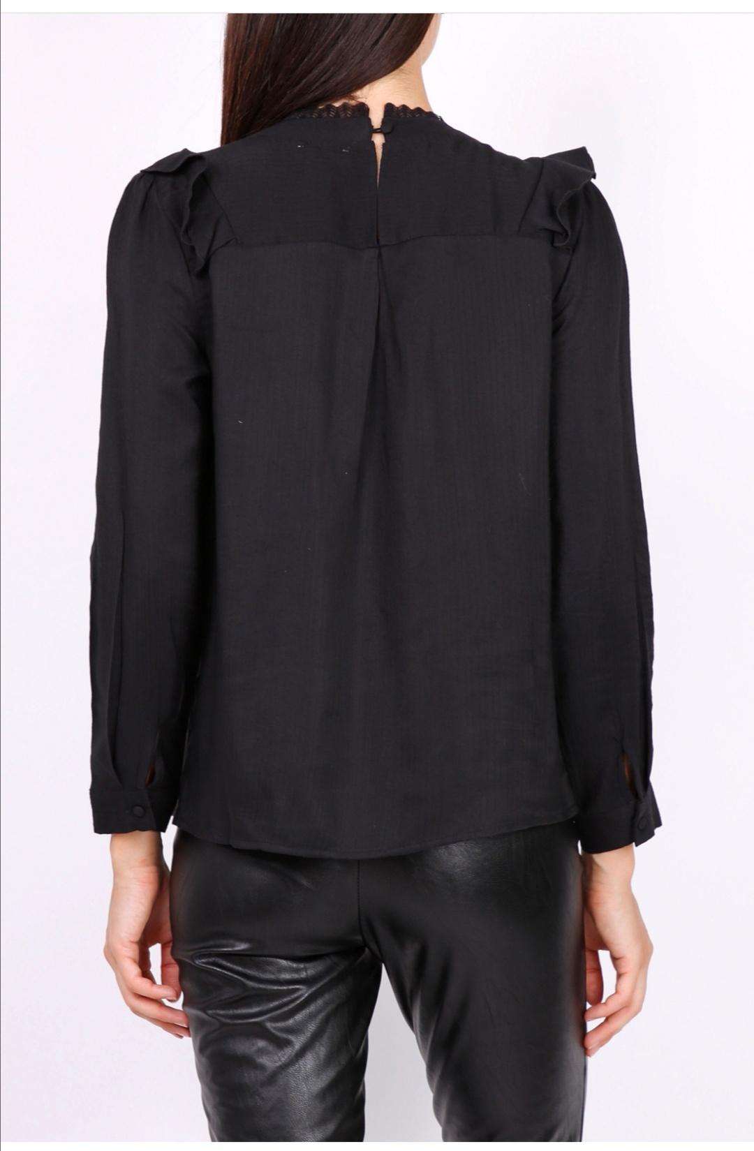 PEPITES blouse lea noire-2