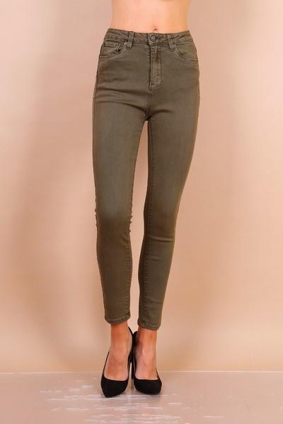PEPITES jeans Léon kaki-1