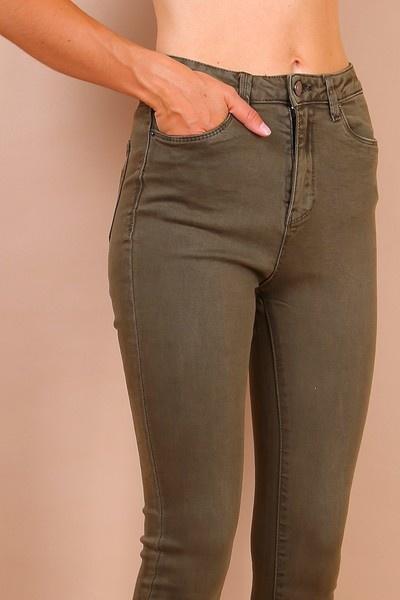PEPITES jeans Léon kaki-2