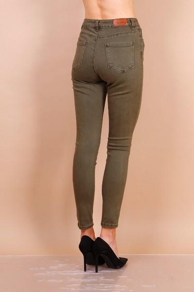 PEPITES jeans Léon kaki-3
