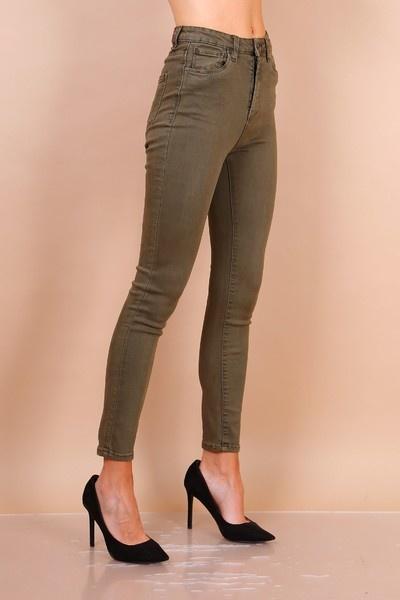 PEPITES jeans Léon kaki-4