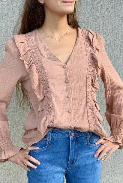 PEPITES blouse satine