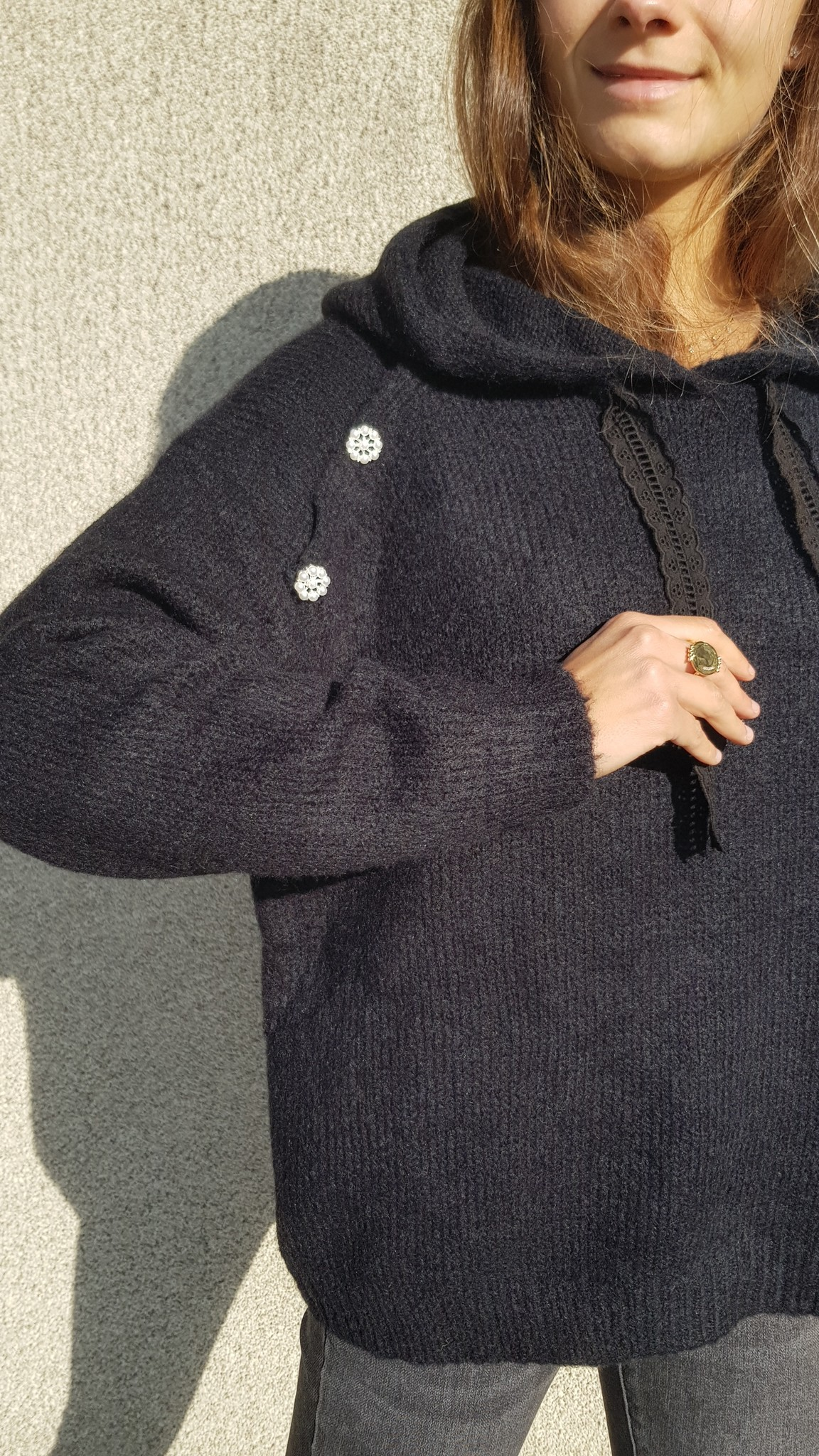 PEPITES pull lucien noir-3
