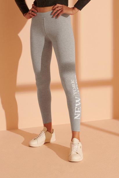 SUPERDRY Legging gris
