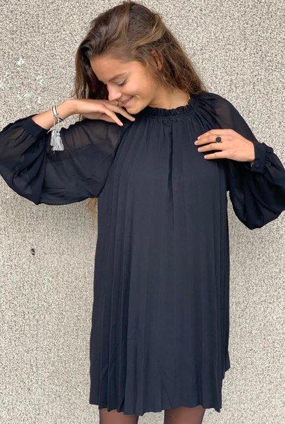 PEPITES robe audrey noir