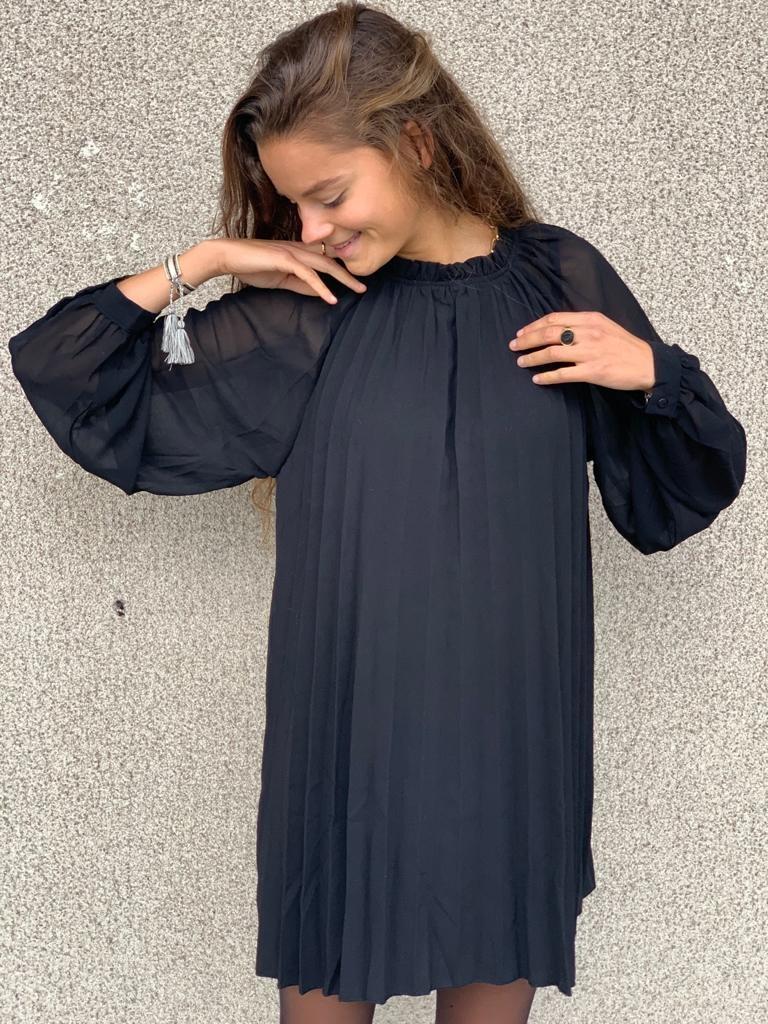 PEPITES robe noir-1