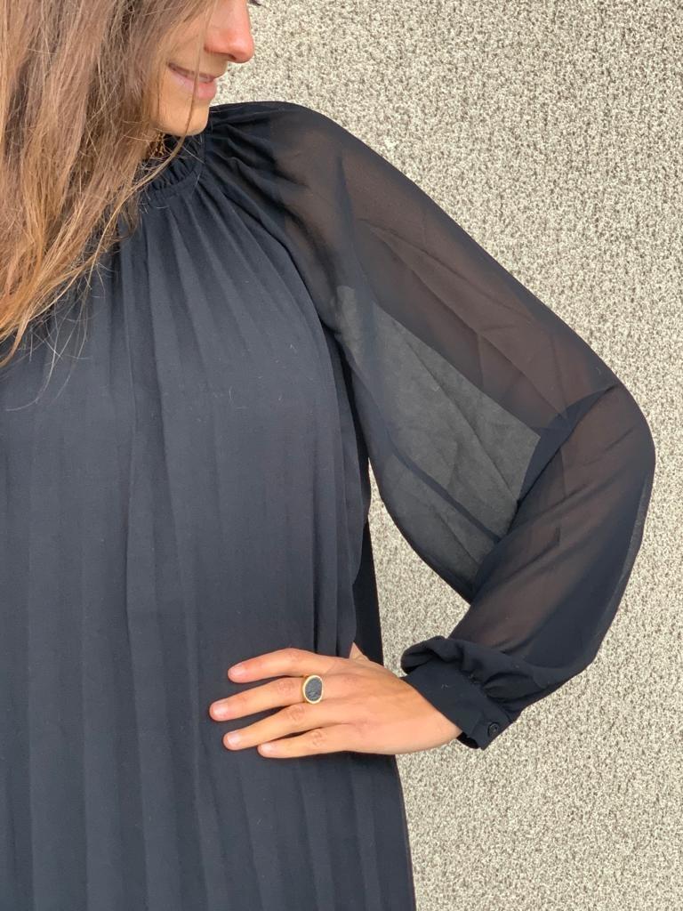 PEPITES robe noir-2