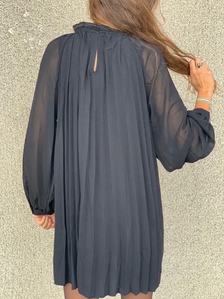 PEPITES robe noir-3
