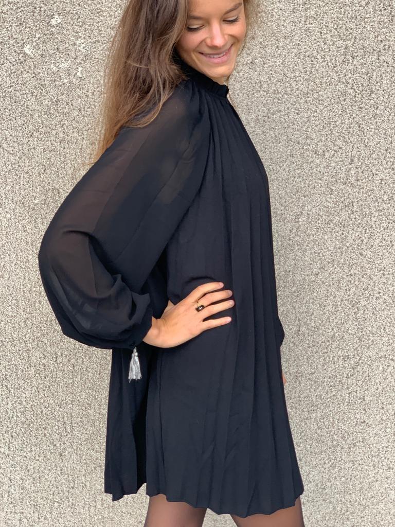 PEPITES robe noir-4