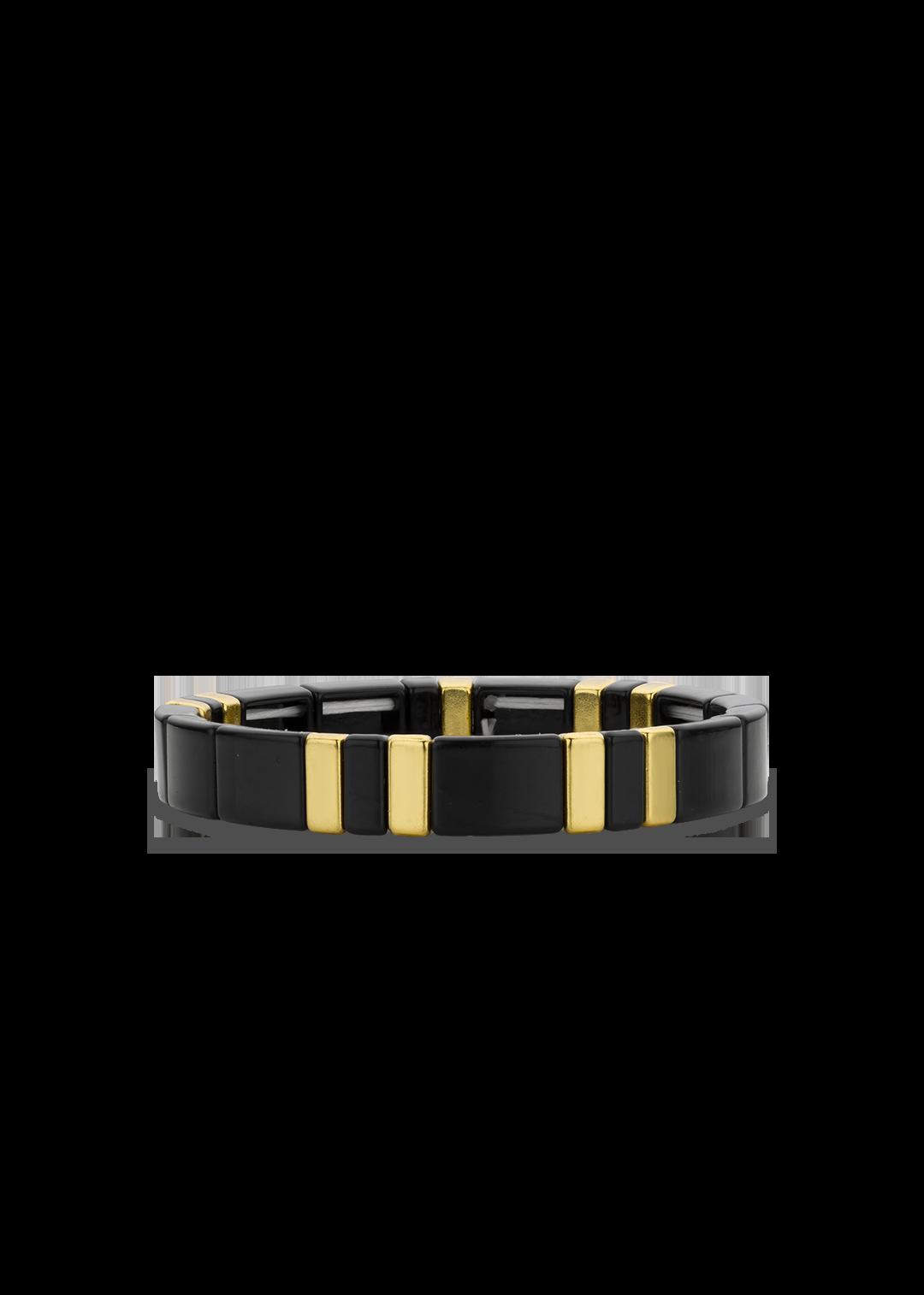 MYA BAY bracelet black rainbow-1