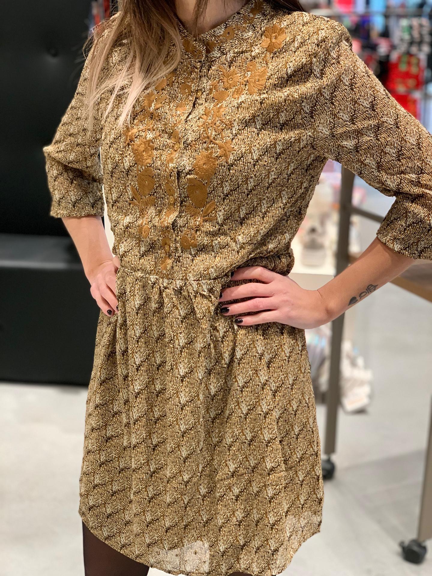 PEPITES robe cindy jaune-1