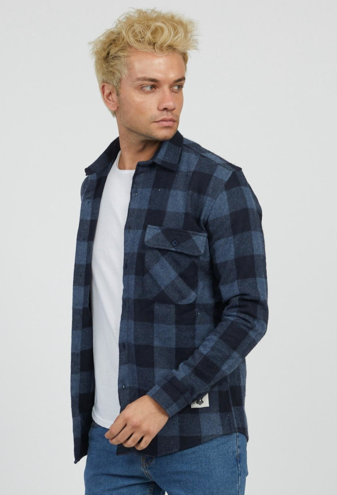 MYSTORE chemise charles bleu-2