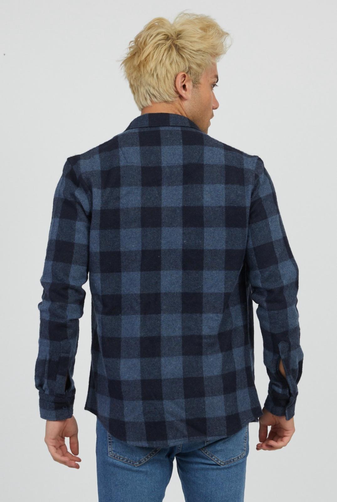 MYSTORE chemise charles bleu-3