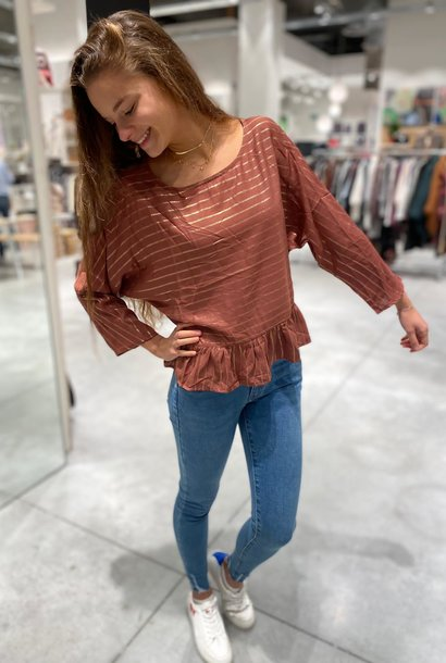 PEPITES blouse alienor