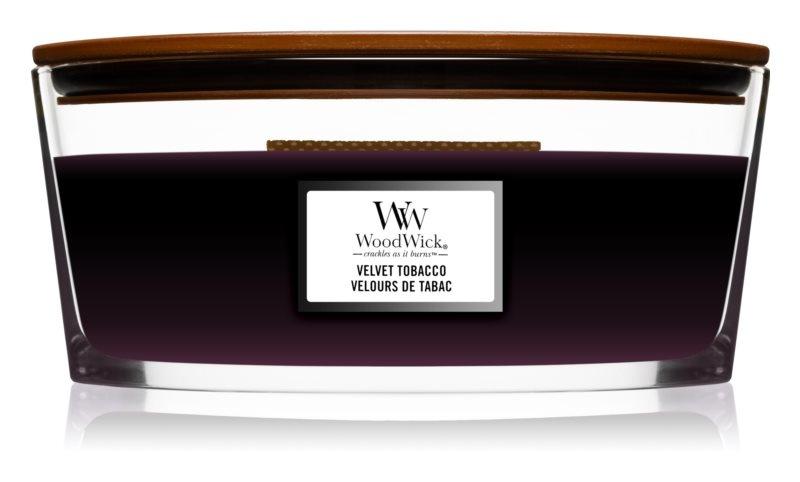 WOODWICK bougie velvet tobacco ellipse-1