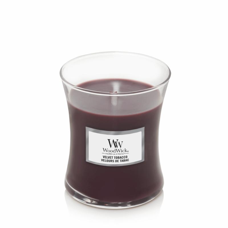 WOODWICK bougie velvet tobacco medium-1