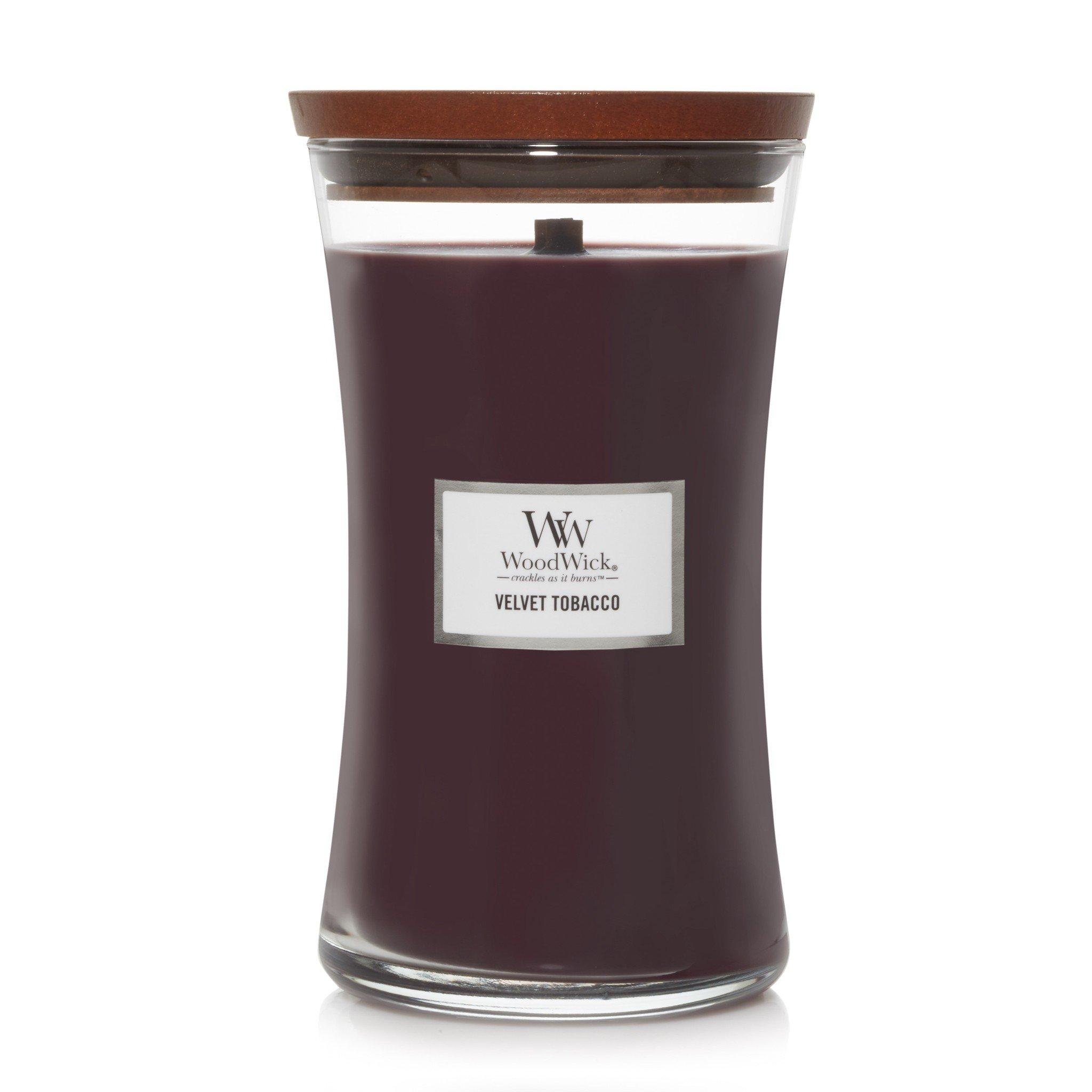 WOODWICK bougie  velvet tobacco large-1