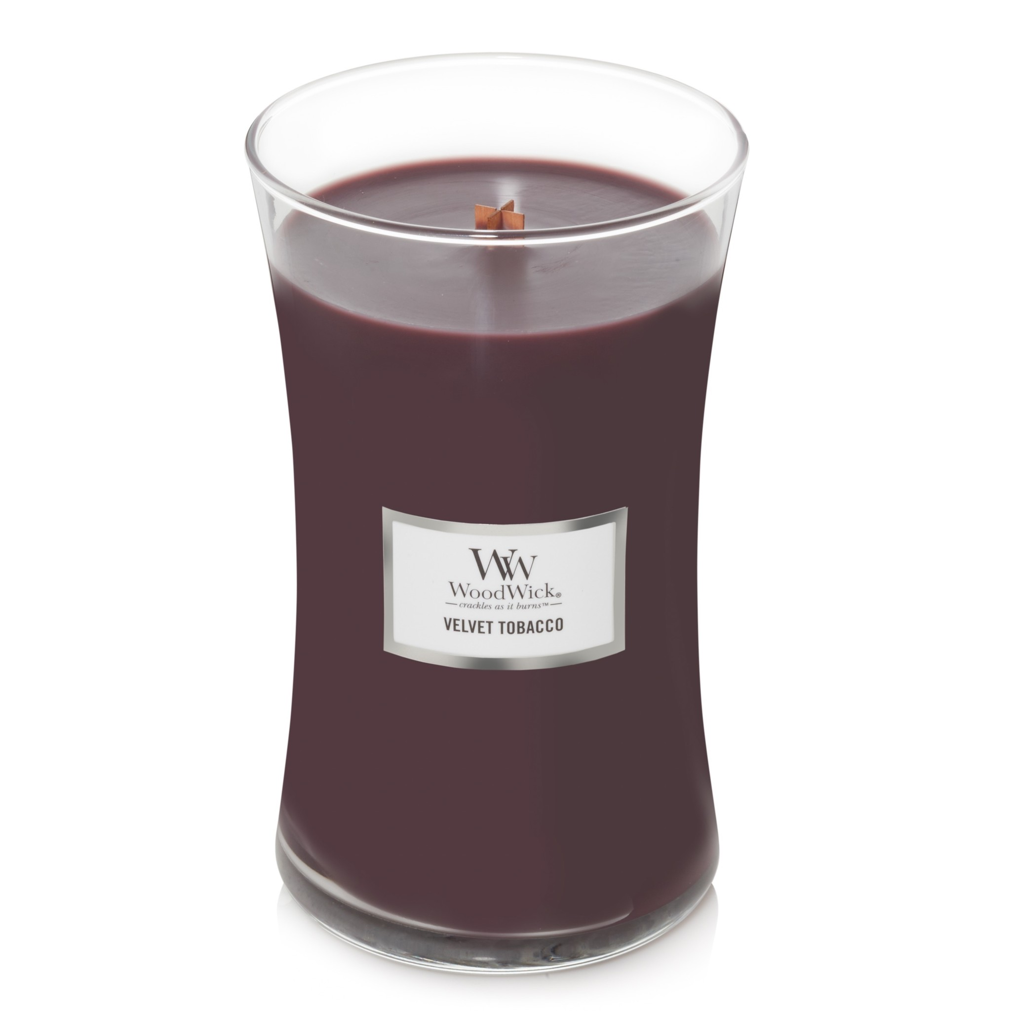 WOODWICK bougie  velvet tobacco large-2