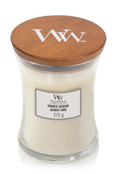 WOODWICK bougie smoked jasmine medium