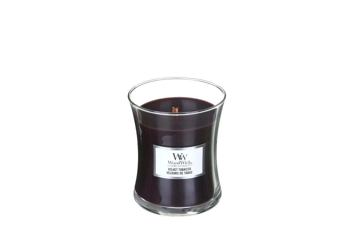 WOODWICK bougie velvet tobacco mini-1