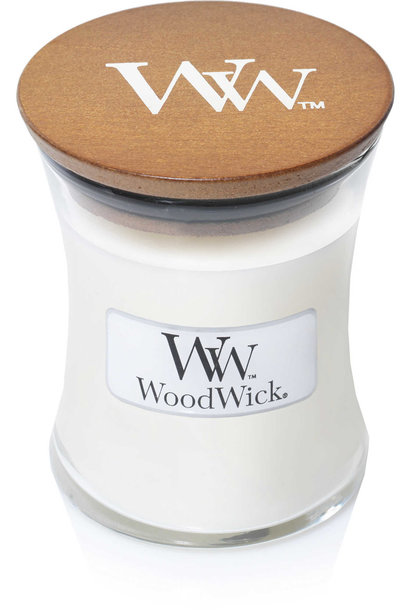 WOODWICK bougie linge propre mini